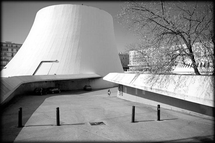 Maison de la Culture. Le Havre, France - Oscar Niemeyer (1982)