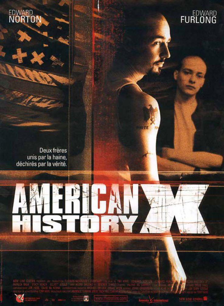 Affiche American History X Scènes à couper au collège.