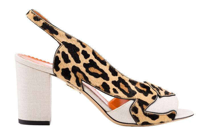Leopard and jaguar prints featured throughout the Charlotte Olympia S/S 2016 collection (Foto: Reprodução)