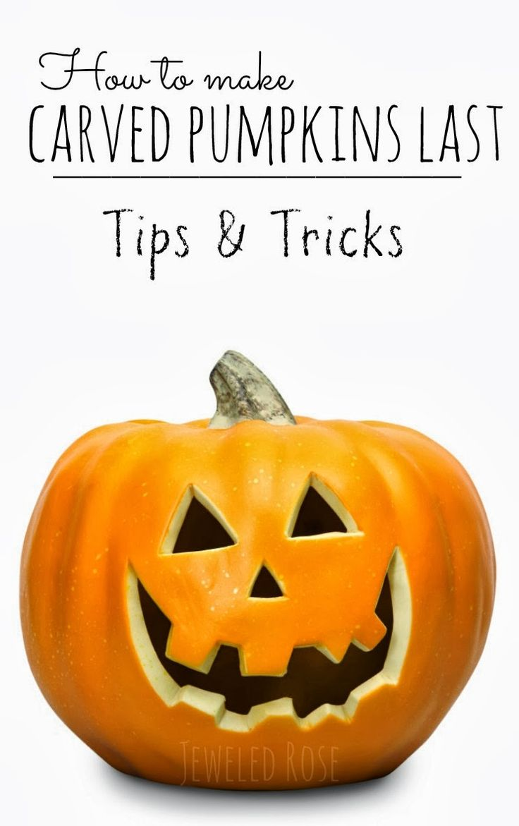 how to make carved pumpkins last longer you can carve your pumpkins earlier using this tip to. Black Bedroom Furniture Sets. Home Design Ideas