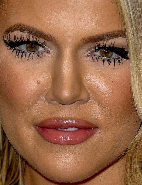 Kim Kardashian blonde photo close-up_ | Celebrities
