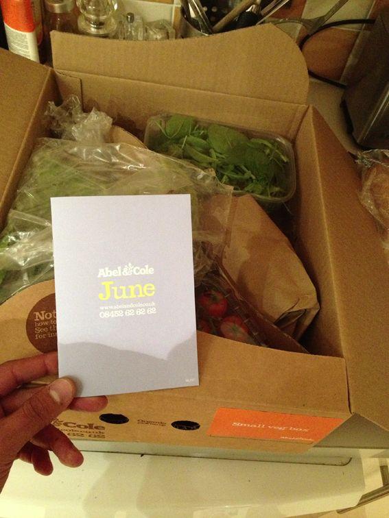 Vegetables delivery website http://www.abelandcole.co.uk/