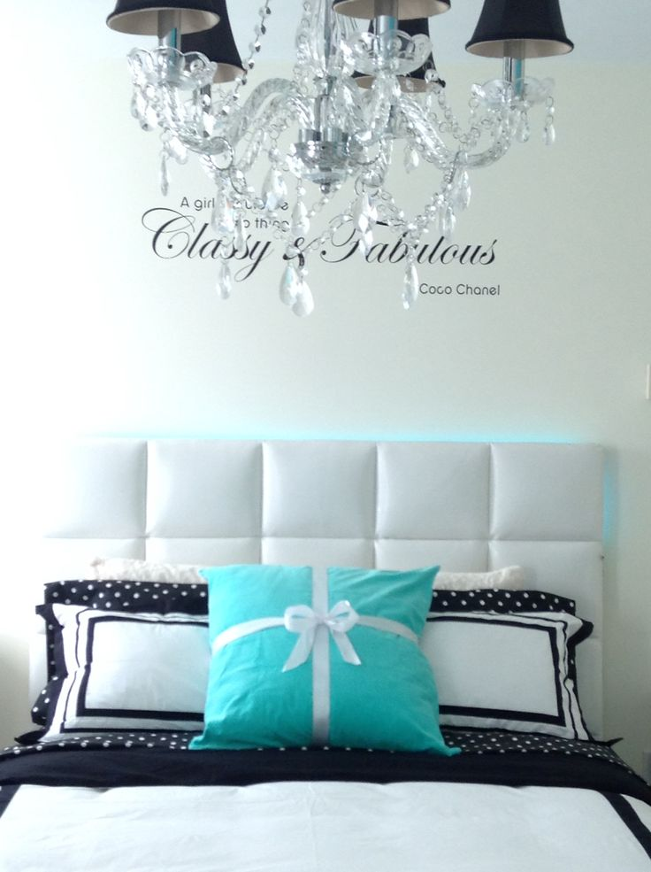 my daughter new tiffany inspired room wall coco chanel wall decal from amazon pb teen