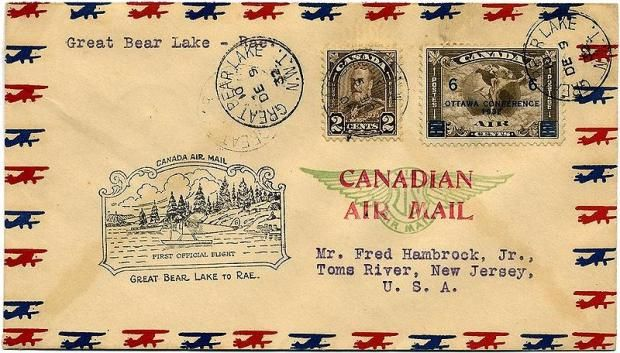 Before fax and e-mail, folks sent their documents via airmail. The postage rate for airmail was higher than regular and based on weight, so envelopes were made of thin paper. Some letters were written ON the inside of the envelopes! They were always marked with a red, white, and blue border so they stood out during the PO sorting process. The USPO discontinued domestic airmail as a separate service in 1975 and simply shipped all mail by plane; international airmail rates were ditched in…