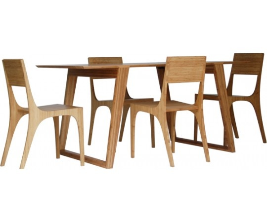 Isometric Table And Chairs From Kalon Studios In New
