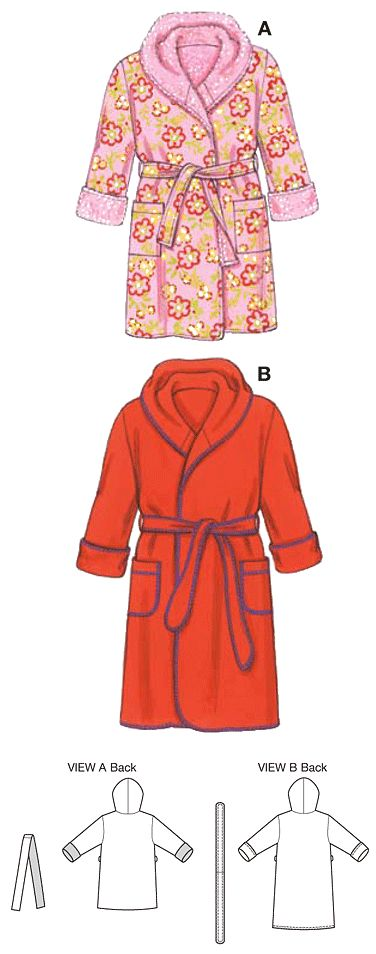 Toddler Robe Pattern Sewing Pinterest Art Line Art