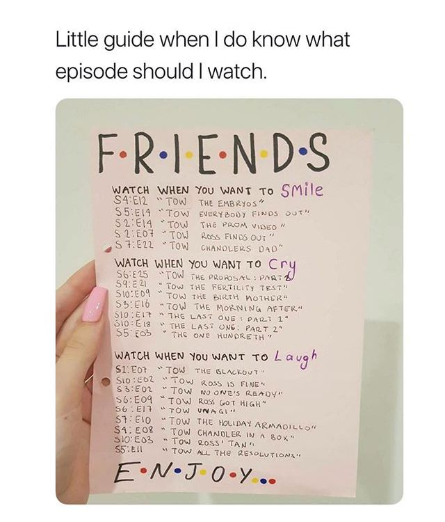 Pin By Emily On Might Come In Handy Friends Tv Friends Tv Show Friends Episodes