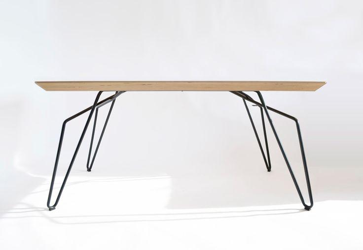 NAGI www.justnagi.com Dining Table Black, interior design, furniture, handmande, minmalistic, simple,