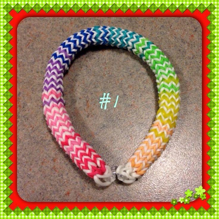25 best rainbow loom bracelets images on