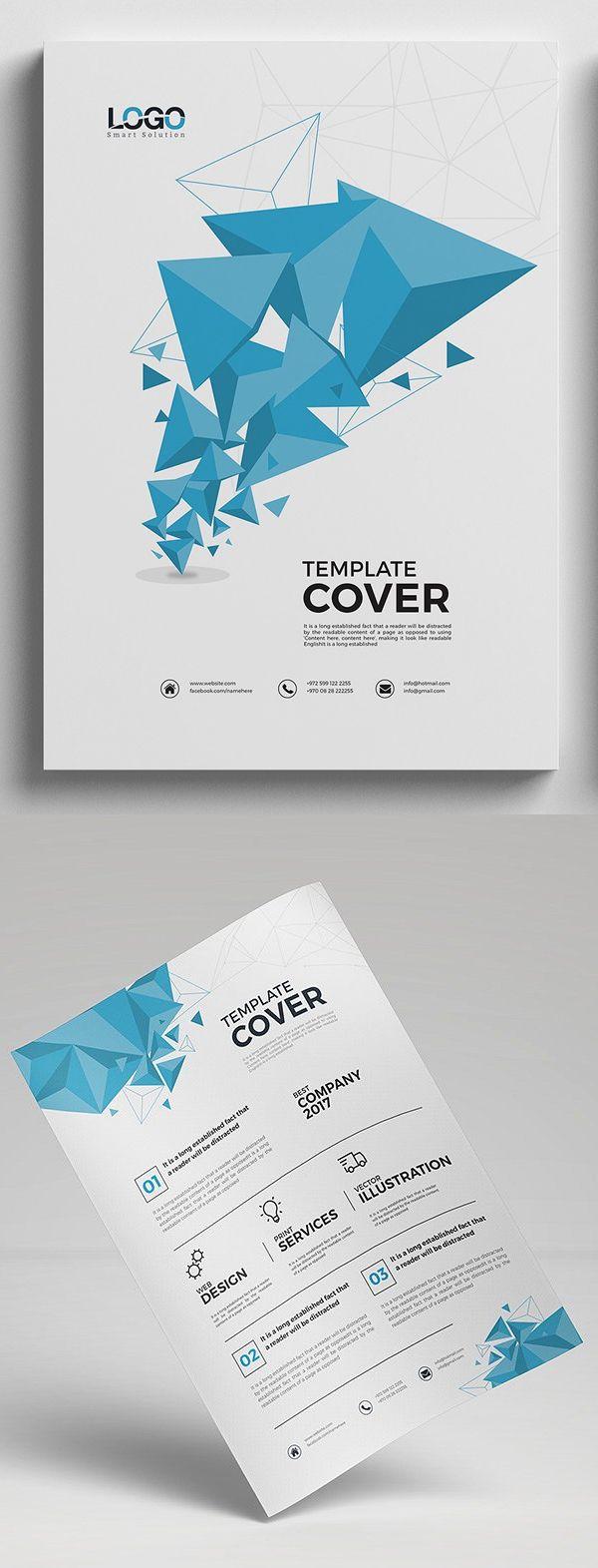 Abstract Modern Business Flyer #design #flyerdesign #flyertemplates #posterdesign #corporateflyer