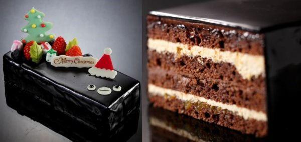 「Suica のペンギン」をかたどったクリスマスケーキが、ホテルメトロポリタン(東京・池袋)で販売される。12月15日まで予約を受け付けている。   大人かわいいスクエア型