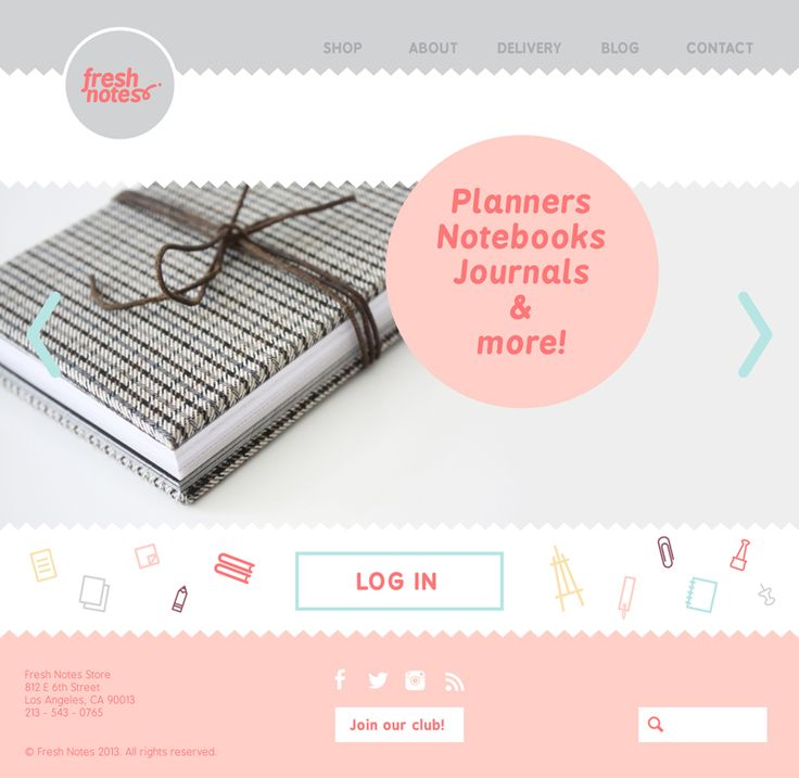 72 best Web Design Inspiration images on Pinterest   Website ...