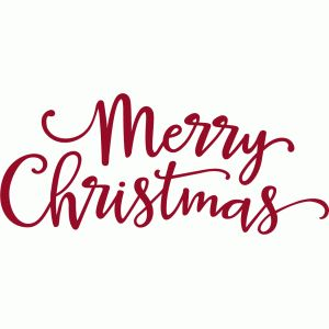 merry christmas script phrase