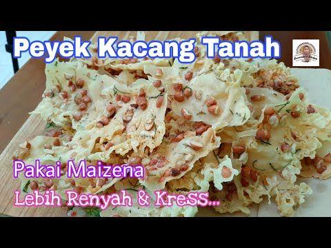 Tambahin Maizena Di Adonan Rempeyek Kacang Tanah Renyah Kress Kress Youtube Resep Masakan Indonesia Adonan Makanan