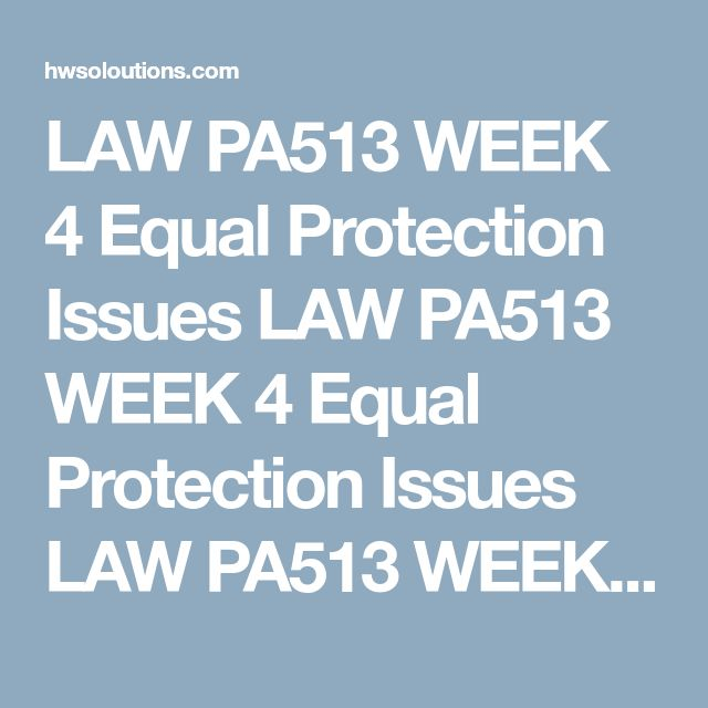 LAW PA513 WEEK 4 Equal Protection Issues LAW PA513 WEEK 4 Equal Protection Issues LAW PA513 WEEK 4 Equal Protection Issues Writea 1,050- to 1,400-word paper that discusses how sexual orientation and gay rights rulings regarding marriage are being addressed in America and other parts of the world. Indicate some of the government agency administrative rules that will have to be adjusted to accommodate this new legal status in the USA.  Formatyour paper consistent with APA guidelines…