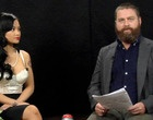 zach galifianakis being AWKWARD. so funny... and i still can't tell if all his guests are in on the joke...?