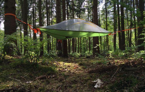 Außergewöhnliche Übernachten im Baumzelt in Harkebrügge als Geschenk   mydays