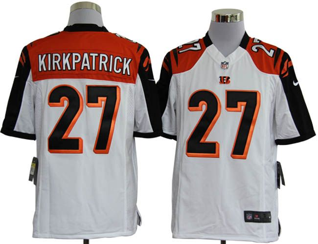 Nike NFL Jerseys Cincinnati Bengals Dre Kirkpatrick #27 White  Reliable online store for cheap NIKE NFL Cincinnati Bengals  Jerseys, 2012 New collection, top quality with most favorable price. please click: http://digjersey.com/nike-nfl-jerseys-cincinnati-bengals-c-129_133.html