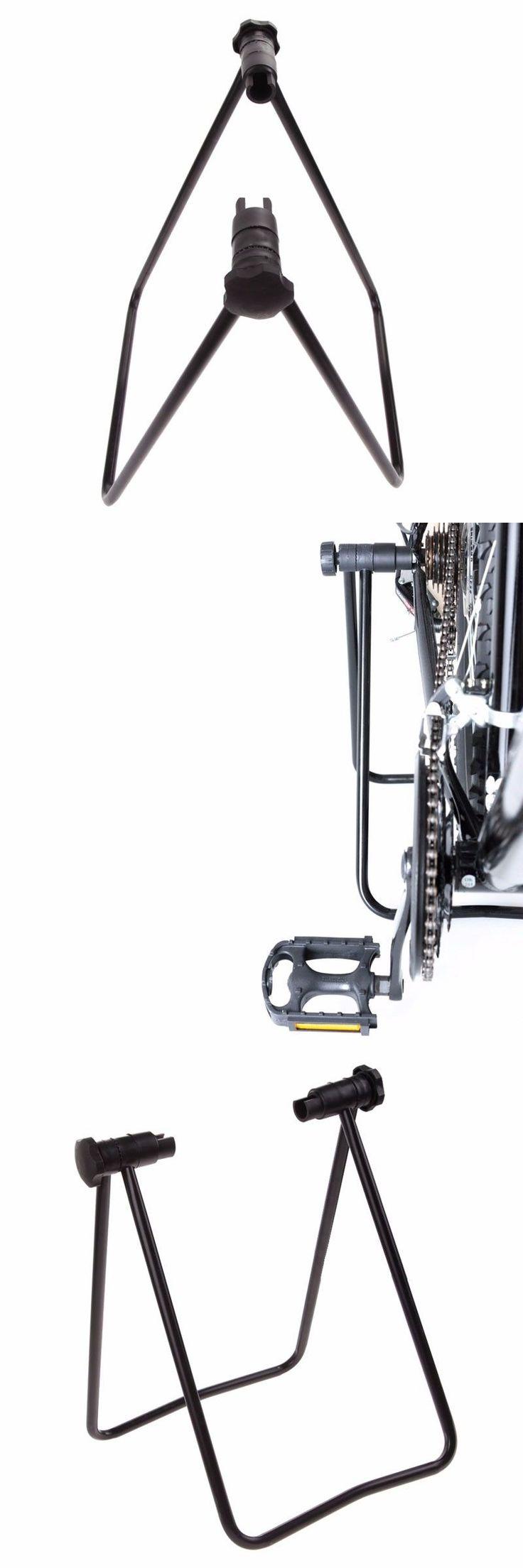 U Shape Bike Cycling Folding Wheel Hub Kickstand Repair Parking Rack Stands New #bikerepairstand