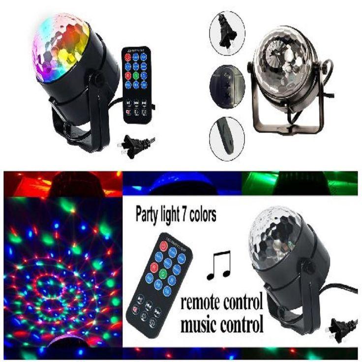Party Ball DJ Strobe Disco Lights Sound Light Lighting LED Stage Laser Activated  sc 1 st  Pinterest & Best 25+ Disco laser lights ideas on Pinterest | Red glitter Red ... azcodes.com