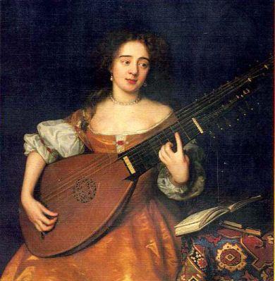 """tiorba se trata de un instrumento de cuerda similar al laúd, cuyo origen pudiera ser el turco torba """"bolsa"""""""