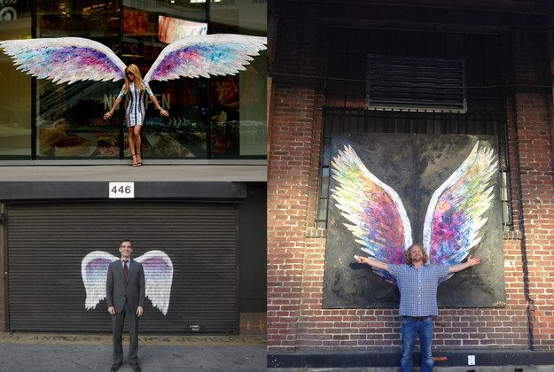 Angel wings! | Hidden Gems In The City Of Angels