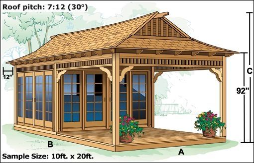 Superior Tea House Shed With Sitting Porch Garden Exteriors In Tea House Plans