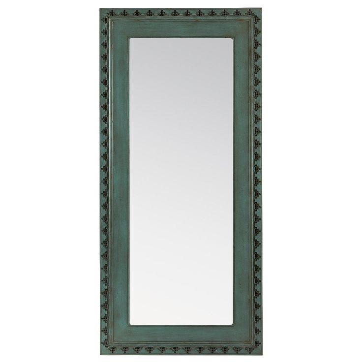 Smoke Blue Floor Mirror Pier 1 Imports Home Bedroom