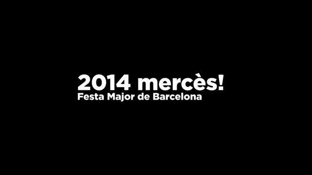 2014 merces! Festa Major de Barcelona
