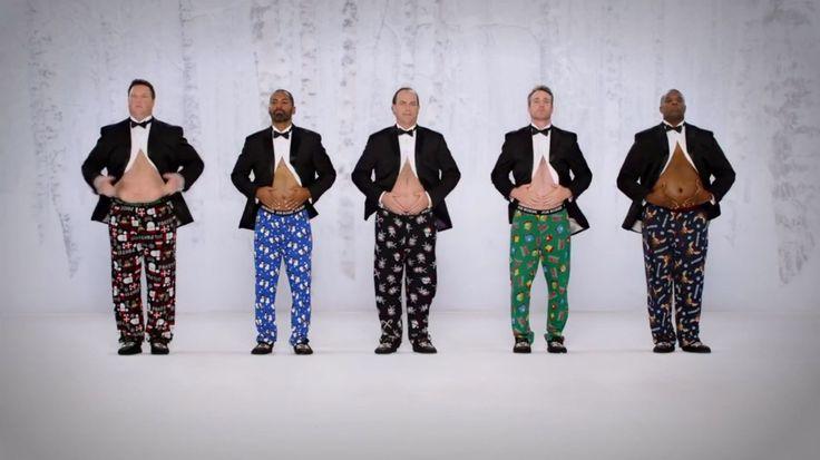 Jingle Bellies   Kmart Joe Boxer Commercial 2014 #ShowYourJoe ...