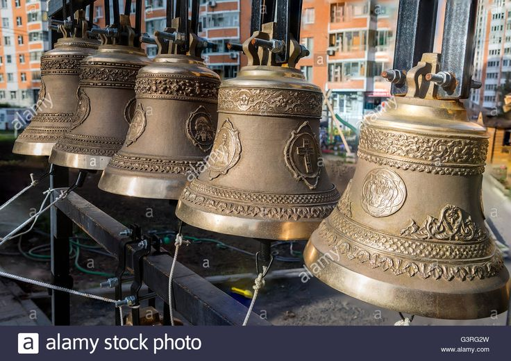 Download this stock image: The bells of the church of the twelve apostles, Moscow, Russia - G3RG2W from Alamy's library of millions of high resolution stock photos, illustrations and vectors.