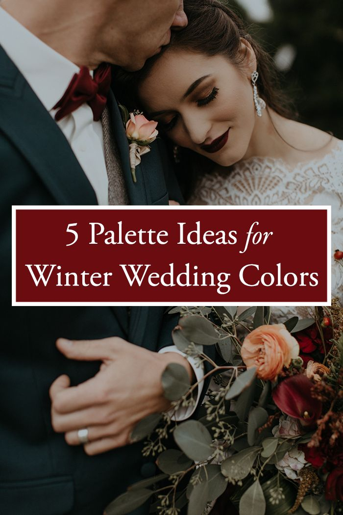 Winter is all about coziness and romance, so here is a collection of wedding color palettes that can adapt to any type of theme for your wintery big day! | Image by B. Matthews Creative  #wedding #weddinginspiration #weddinginspo #weddingcolorpalette #colorpalette #weddingcolor #weddingcolors #weddingideas #weddingidea #weddingplanning #weddingphotography
