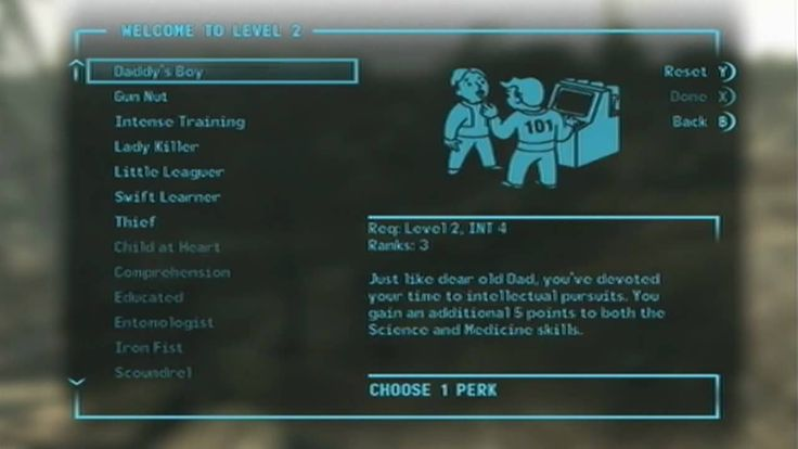 Fallout 3 - Perfect Character Build Guide