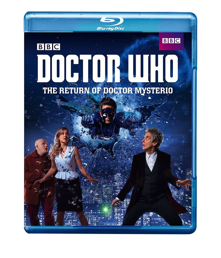Now available on Blu-ray!    #DoctorWho