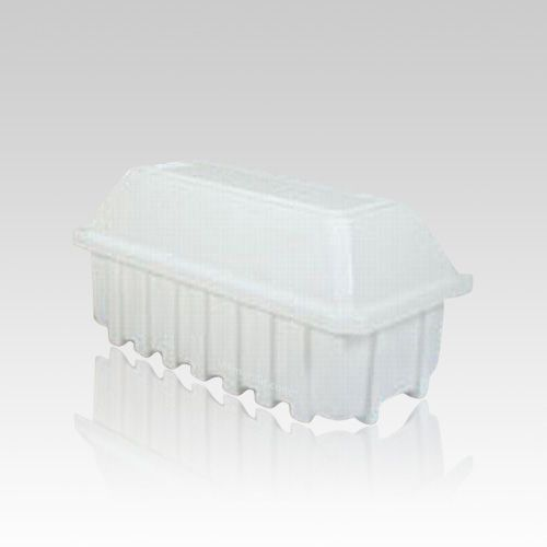The Best Friend Pet Casket uses a self-aligned channel for easy sealing.  The pet casket is environmentally safe and corrosion resistant. The pet casket is watertight and airtight; it demonstrates complete resistance to the intense pressure and weight experienced after interment.