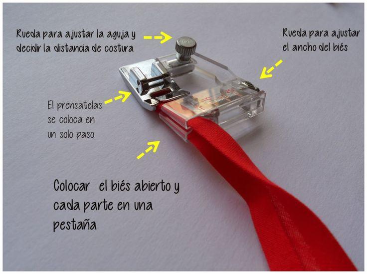 """Srta.Pizpiretta: """"El probador"""": Prensatelas de Biés y Teflón (Con Tutorial)"""
