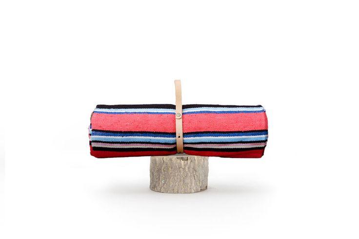 Cielo Rosa Stripe Blanket