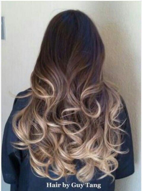Balayage ombre brunette @Modern Mystics what do you think about that kind of blonde?!