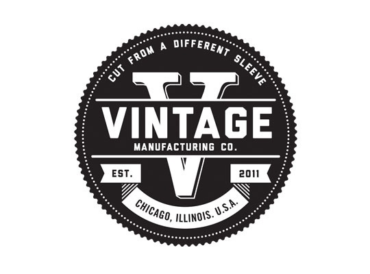 logo design for a tee shirt designer specializing in vintage college
