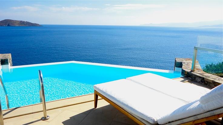 Room with a view, Aquila Elounda Village, Crete