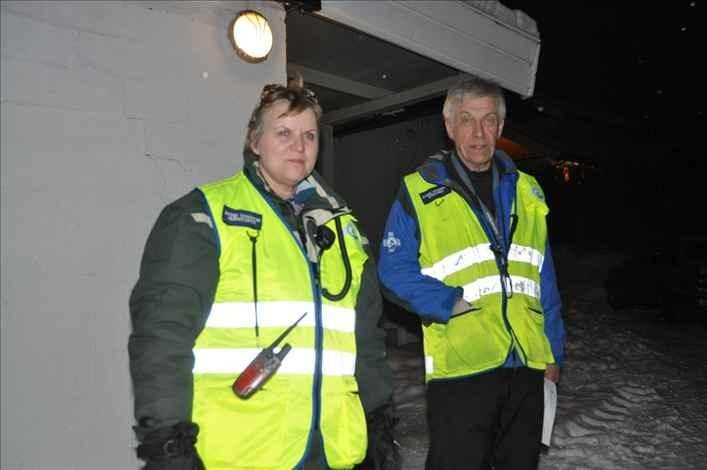 Redningshund fant savnet eldre dame på Hamar i morgentimene i dag.