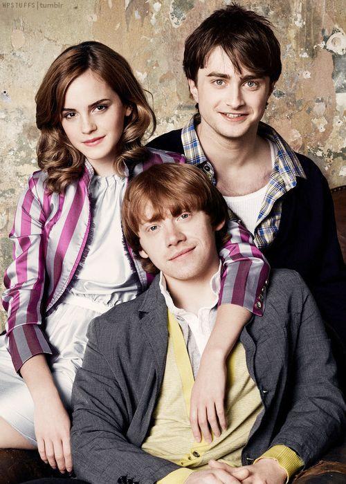 Emma Watson, Daniel Radcliffe, Rupert Grint - Harry Potter