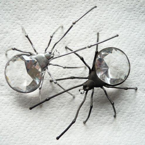 Visibly Interesting: Spider Rings