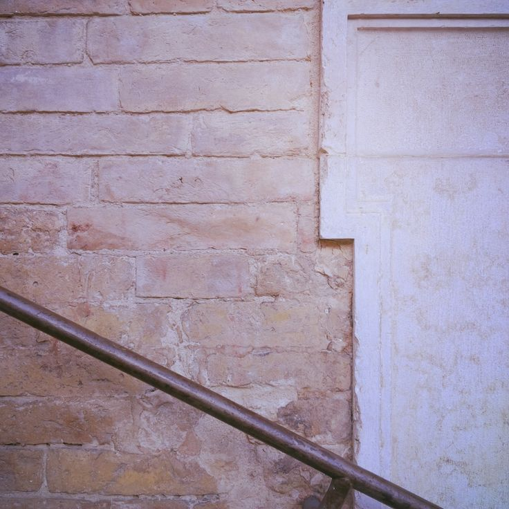 Texture Detail Fermo Stripe Festival art and architecture | handrail | wall | stone |