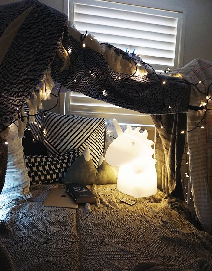 How To Build A Super Cool Blanket Fort Was Man So Mag