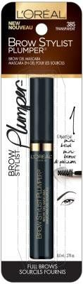 L'Oreal Paris Cosmetics Brow Stylist Plumper Brow Gel Mascara - Transparent (Pack of 2). Quality you can trust from L'Oreal Paris. Great Value!. Pack of 2.
