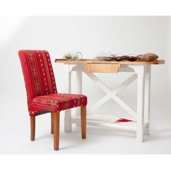 Consolă din lemn de stejar Măiastră vintage - Relaxeaza-te in mod traditional! #consola #consolavintage #decoratiunivintage #vintagedecor #DecoStores #vintagefurniture