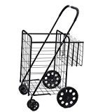 #9: Folding Shopping Cart with Double Basket- Jumbo Size 150 lb Capacity Black, Grocery Shopping Made Easy w/ Spinning Wheels   https://www.amazon.com/Folding-Shopping-Basket-Capacity-Spinning/dp/B01BCU5DHG/ref=pd_zg_rss_ts_op_1069114_9?ie=UTF8&tag=azoffice-20