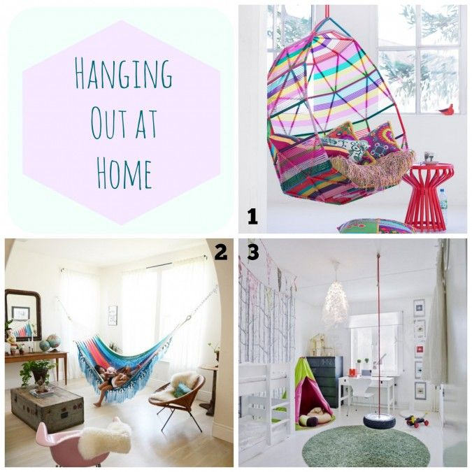 Hanging Out At Home Ways To Hang A Swing Hammock Or