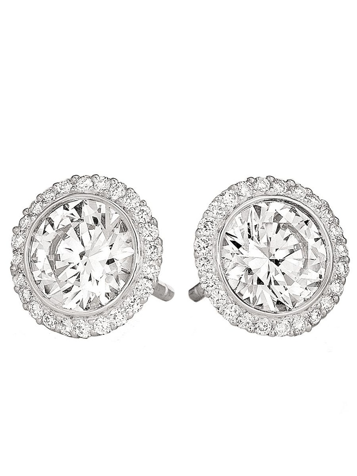 Ritani Bella Vita Diamond Earrings at London Jewelers!
